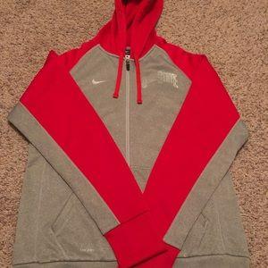 Women's Nike Ohio State Full Zip Sweatshirt